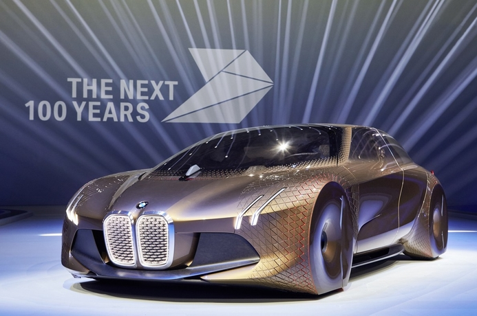 In pics: BMW Vision Next 100