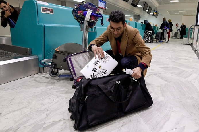 In pics: US laptop ban explained