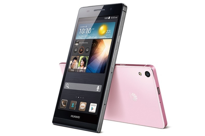 Huawei's ultra-thin Ascend P6