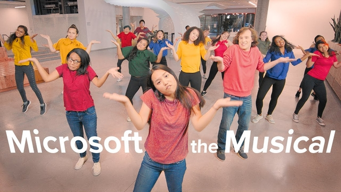 Microsoft makes fun of itself in a music video