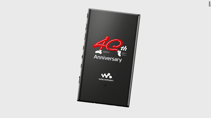 Celebrating 40 years of the Walkman, Sony releases a special edition Walkman