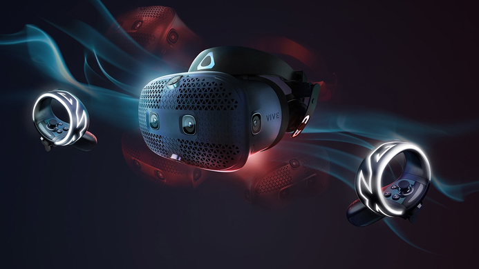 HTC's unveils the new Vive Cosmos VR headset