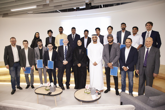 UAE students develop AI-powered healthcare solution