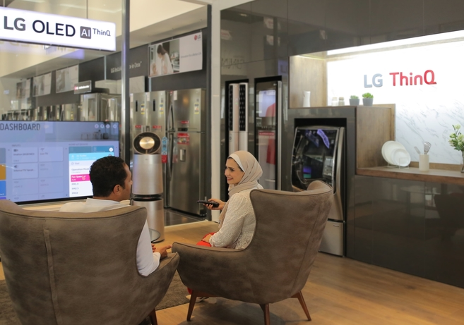 Delivering a new intelligence to connected living with LG ThinQ