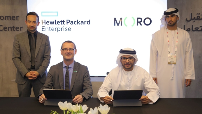 HPE signs digital transformation partnership agreement with service provider Moro