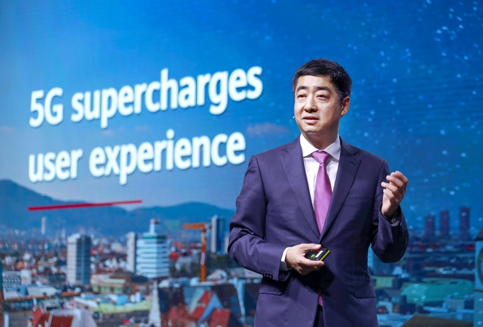 """""""We need to work together to make the most of 5G,"""" says Huawei Deputy Chairman"""