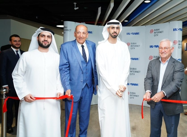 UAE Minister of Artificial Intelligence inaugurates Ingram Micro's Experience Zone