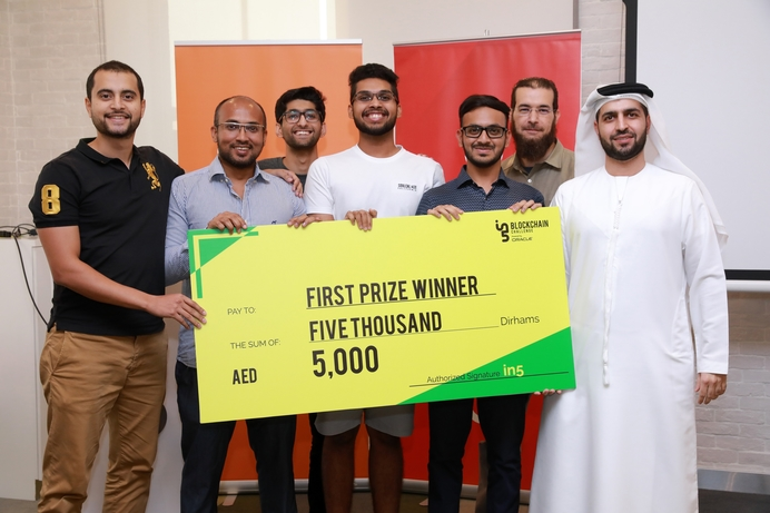 in5 announces winners of second edition of blockchain challenge hack-a-thon