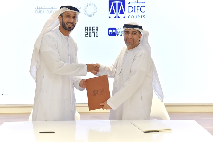 Court Tech Lab launched by DIFC Courts and  Dubai Future Foundation