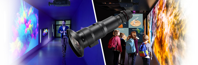 Panasonic's new range of lenses will power their new projectors