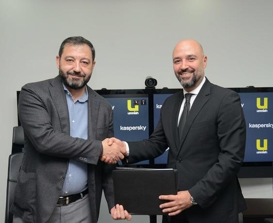 Umniah signs Managed Security Service Provider Partner agreement with Kaspersky