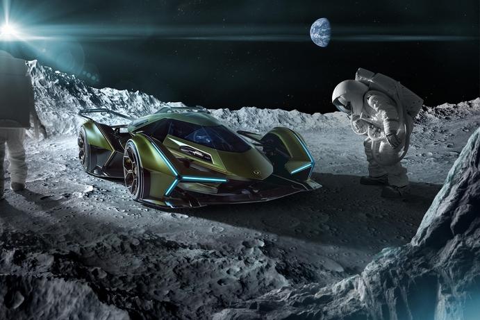 Lamborghini Lambo V12 Vision Gran Turismo is straight from the future