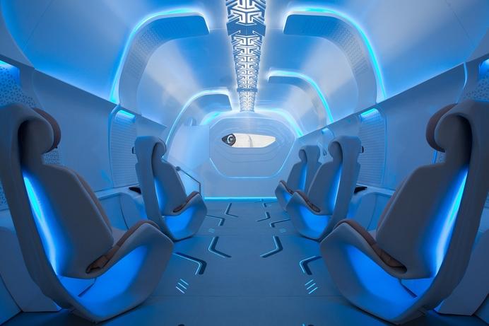 Formula 1 meets Virgin Hyperloop One: California-based Developer to Showcase Passenger Pod at This Year's Abu Dhabi Grand Prix