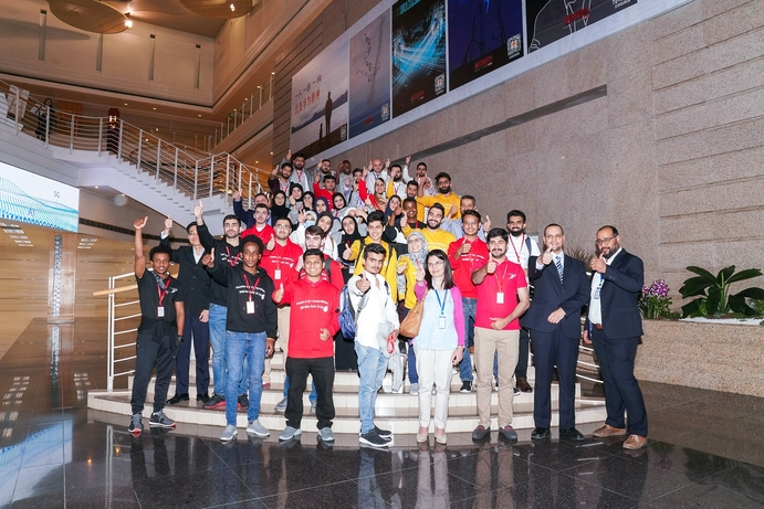 13 teams from 10 Middle East countries competed in Huawei Middle East ICT Competition 2019 final