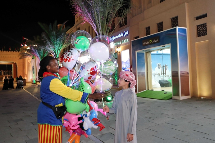 Etisalat participates in 10th edition of Sheikh Zayed Heritage Festival