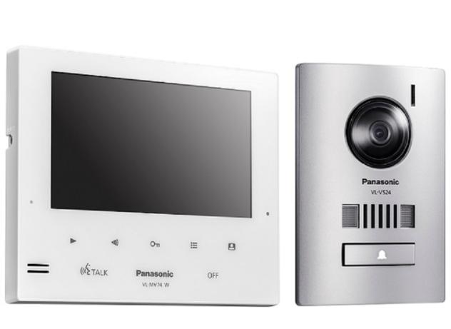 Panasonic launches expandable video intercom kit VL-SV74