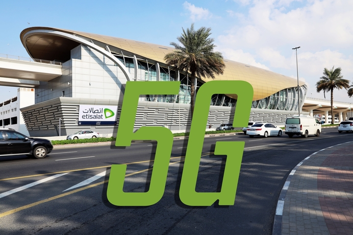 Etisalat empowers 'Etisalat Metro station' with 5G