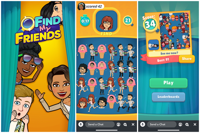 Snap Introduces a New Gameplay Format for Snap Games: Leaderboard Games