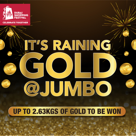 Jumbo Electronics is giving consumers a chance to win gold at the 25th edition of DSF