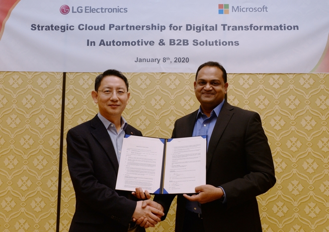 LG partners with Microsoft on B2B solutions