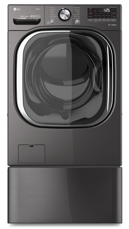 LG introduces a new AI-powered washer
