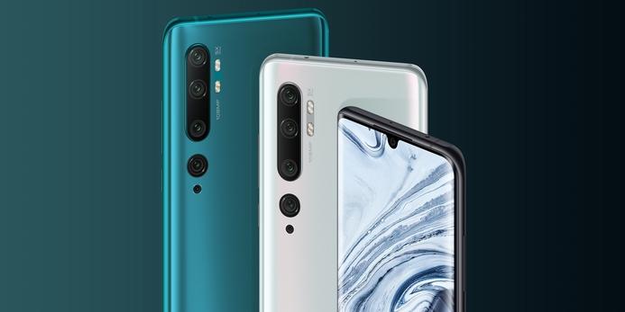 Xiaomi launches the Mi Note 10