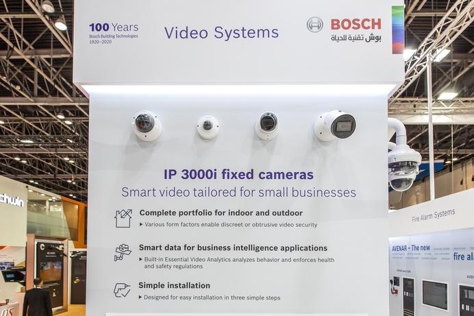 Bosch unveils Smart Camera technology at Intersec 2020