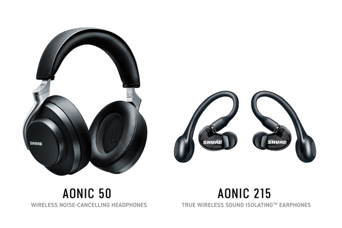 Shure's Aonic noise-cancelling headphones has Adam Levine's backing