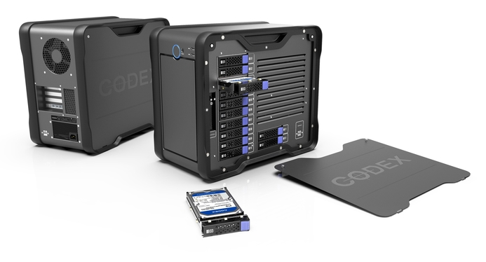 Codex releases on-premise storage device Media Vault