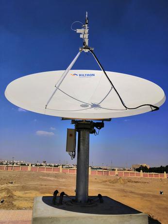 Hiltron completes fully integrated TVRO platform control system for Nilesat
