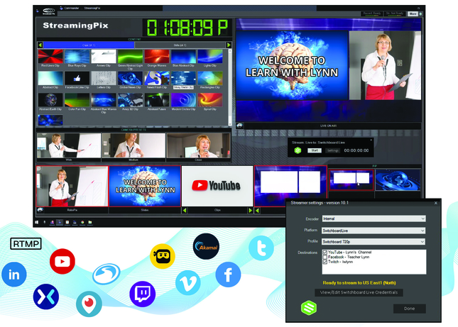 Broadcast Pix partners with Switchboard Live