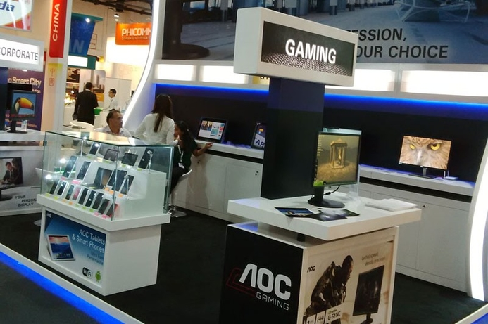 AOC uses GITEX to enter mobile arena