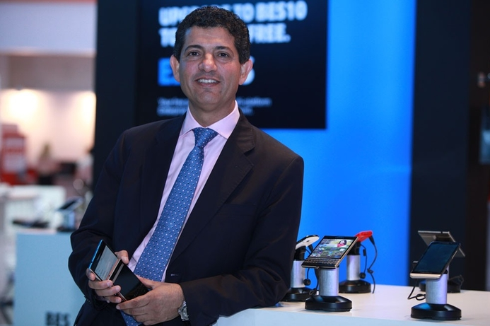 BlackBerry shares new devices at GITEX