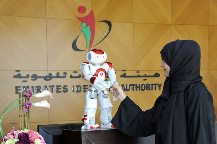 Emirates ID to launch robot for customer service