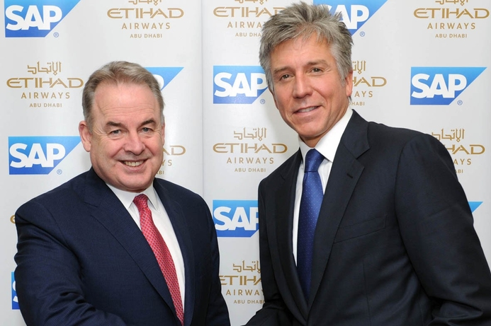 Etihad selects SAP as strategic technology partner
