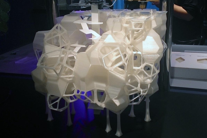 3D printed housing showcased at Downtown Design