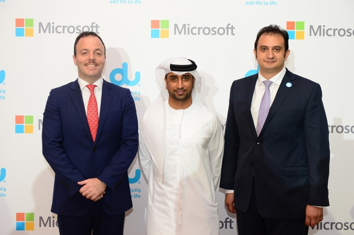 Microsoft and du join forces to provide SMBs in UAE with new Office 365