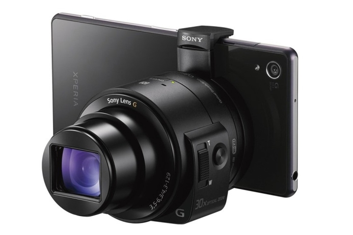 Sony introduces interchangeable-lens concept