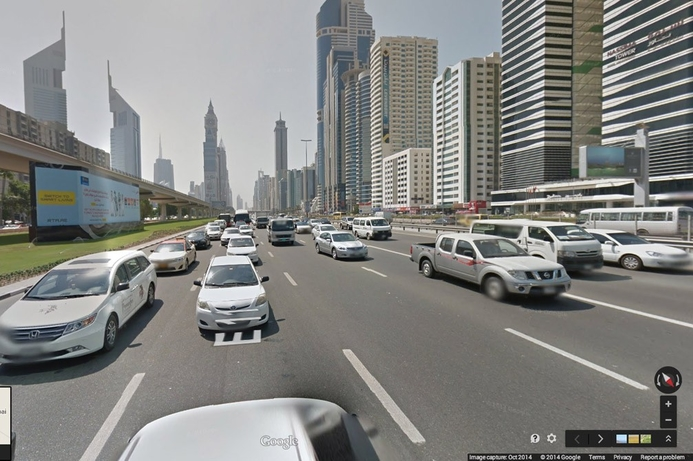 Dubai becomes first Arab city on Google Street View