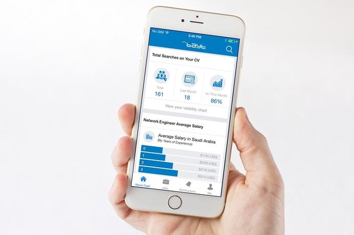 Bayt.com revamps mobile app
