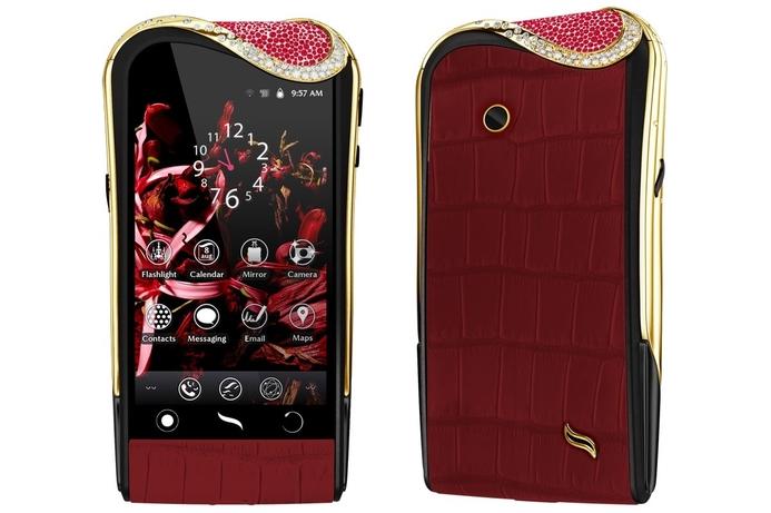 Exclusive ruby-set smartphones unveiled