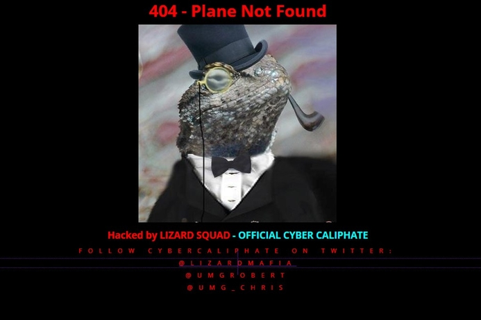 Lizard Squad strikes again, defaces Malaysia Airlines' website