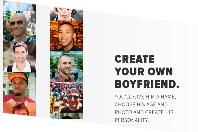 New app to create invisible boyfriend or girlfriend