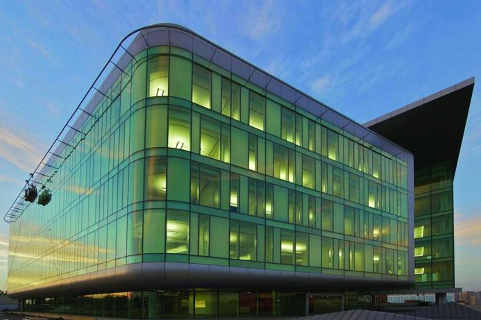 UAE TRA HQ certified LEED Gold standard