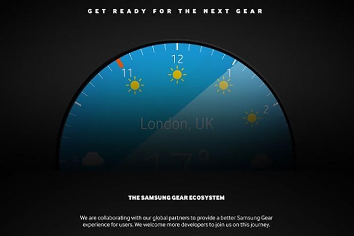 Samsung teases round-faced Galaxy Gear smartwatch