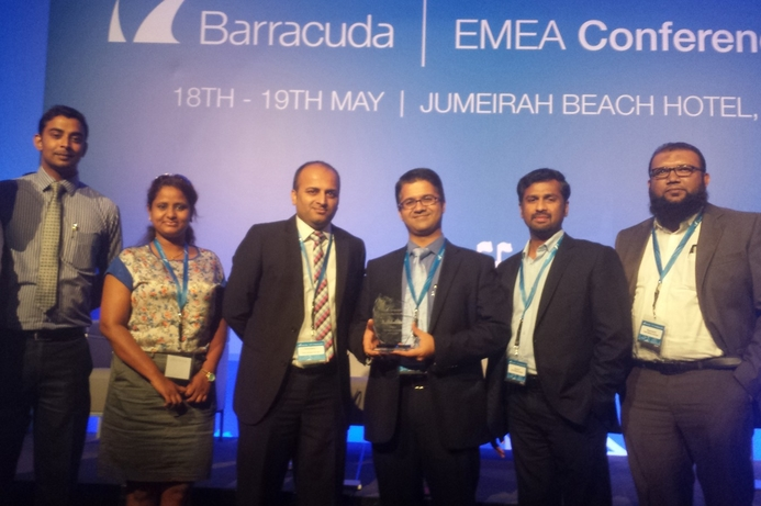 Think Software Services bags Barracuda accolade