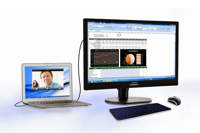 MMD launches Philips USB Docking Monitor
