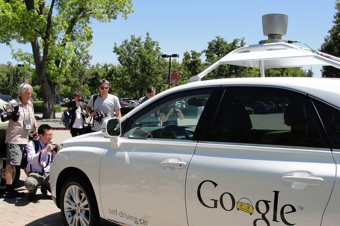 Google's self-driving cars to be recognised as a 'driver'