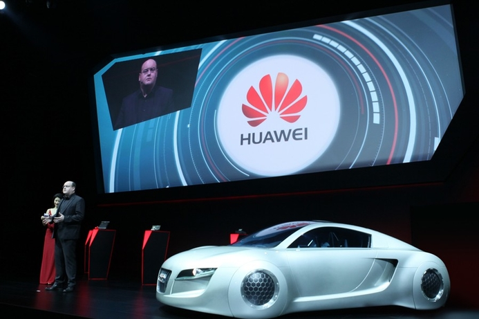Huawei works with Audi, Volkswagen on connected cars