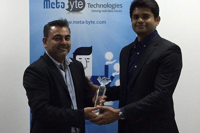 Meta Byte wins MetricStream award